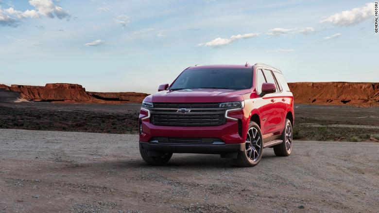 The 2021 Chevrolet Tahoe is much longer than the current version.