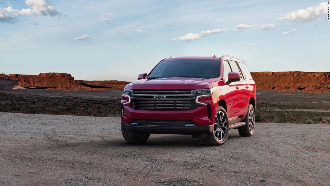GM enthüllt noch größere Tahoe und Suburban SUV