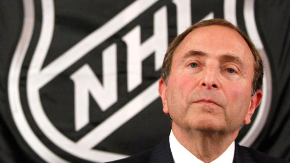 NHL commissioner Gary Bettman announced new steps to combat abusive behavior in the league Monday.