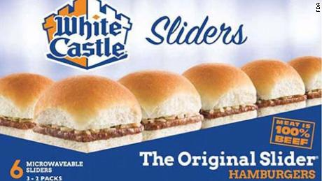White Castle products at select stores are being recalled for possible Listeria monocytogenes.