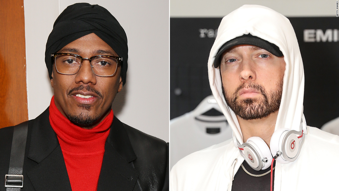 Eminem and Nick Cannon feuding again after diss track - CNN