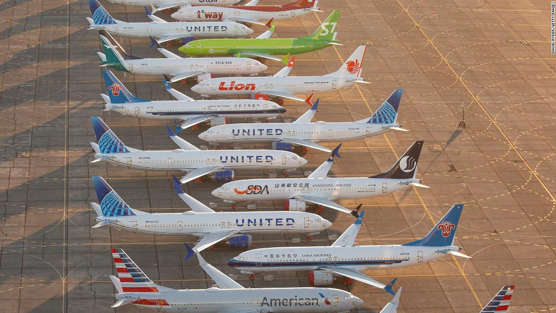 Boeing says it found debris in fuel tanks of parked 737 Max jets