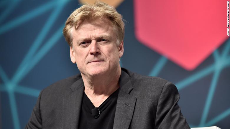 Former CEO of Overstock Patrick Byrne.