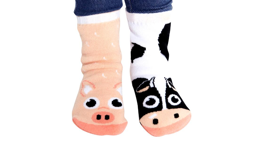 Calcetines Cow and Pig