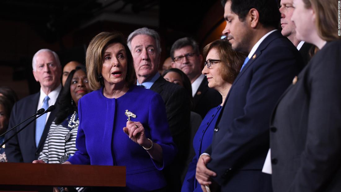 Haus Demokraten setzen auf pass Trump Handels-deal mit Kanada und Mexiko