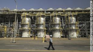 Saudi Aramco shares spike after historic market debut