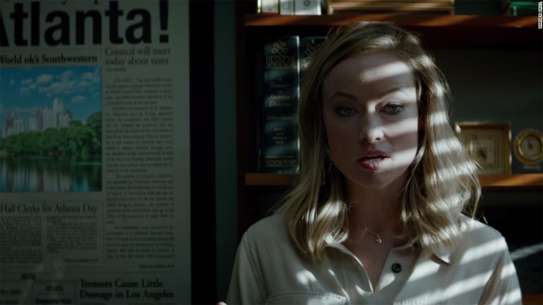 Olivia Wilde addresses controversy around her 'Richard Jewell' character