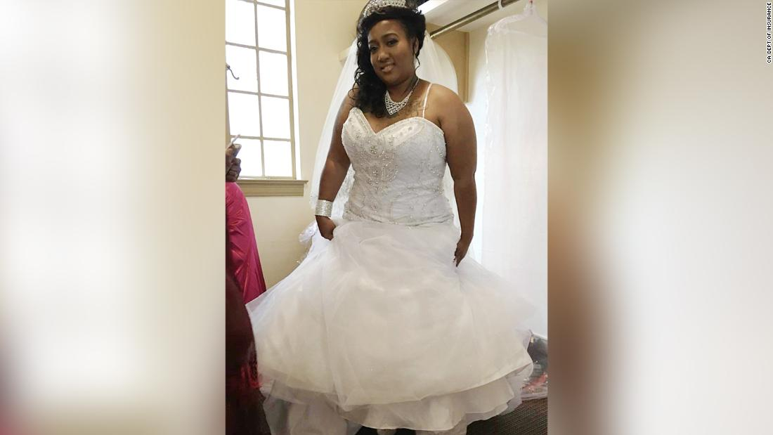 A woman got sentenced to 5 years for trying to scam a wedding website twice