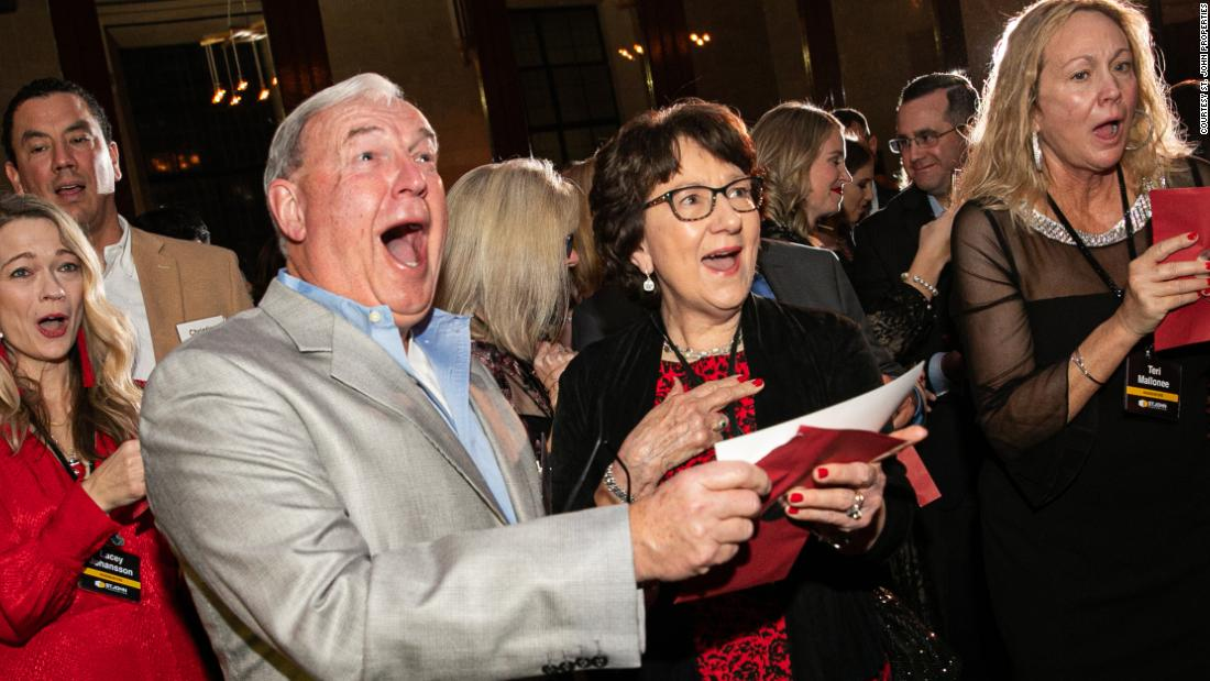 A real estate company surprised employees with $10 million in bonuses at a holiday party