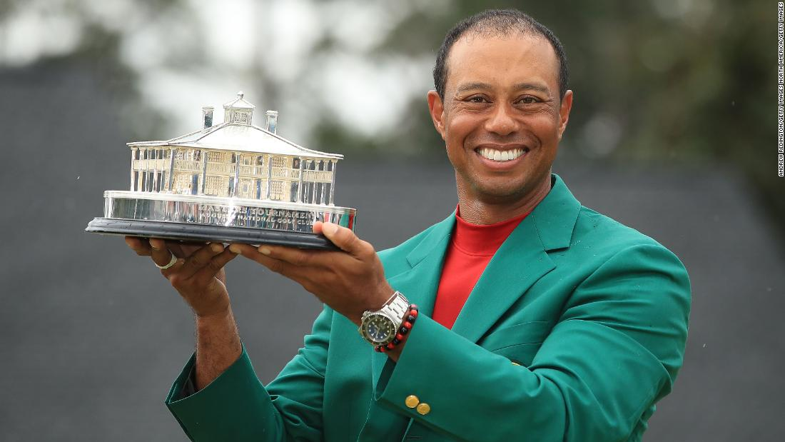 We're still debating milkshakes,' says Woods as he reveals Masters menu