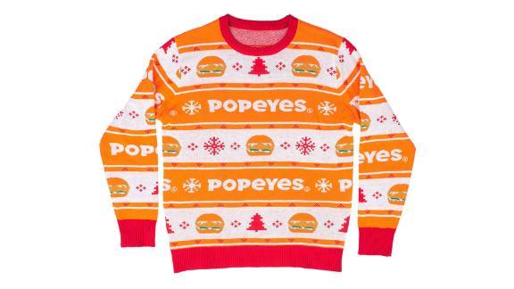Christmas list: Popeyes chicken sandwich. End of list.