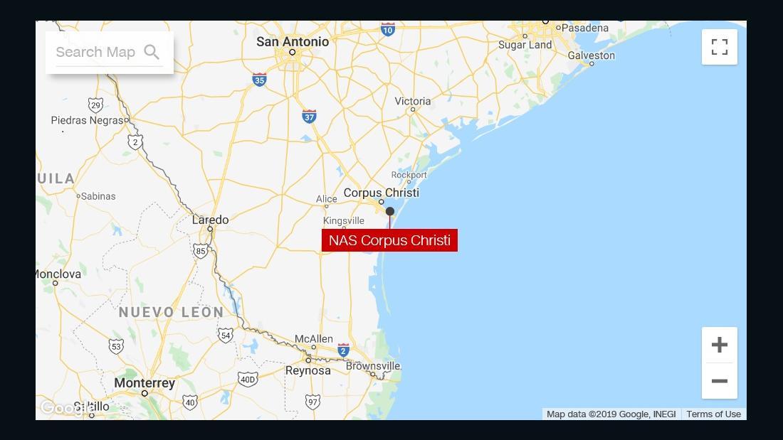 Naval Air Station Corpus Christi hebt lockdown. Verdächtige in Haft, Basis sagt