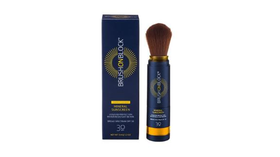Brush on Block Facial Mineral Sunscreen Powder, SPF 30