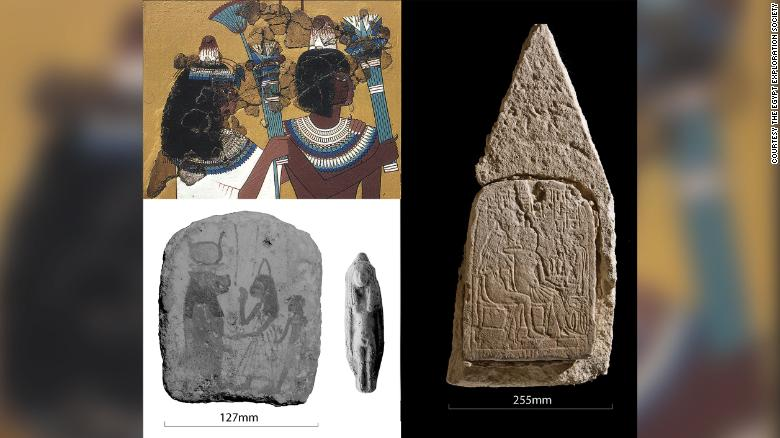 Head cones were depicted in a variety of Egyptian art.