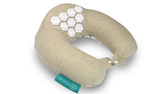 Kanjo Memory Foam Accupressure Neck Pillow