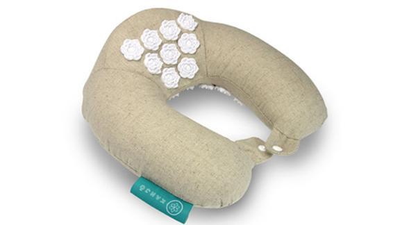 Kanjo Memory Foam Accupressure Neck Pillow