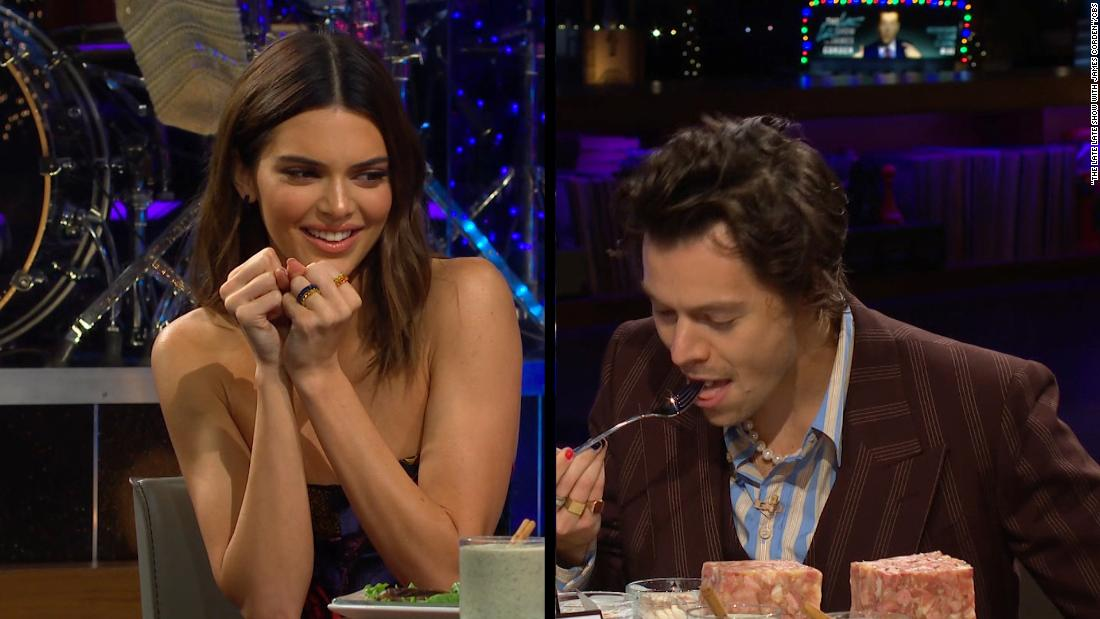 Kendall Jenner and Harry Styles quiz each other