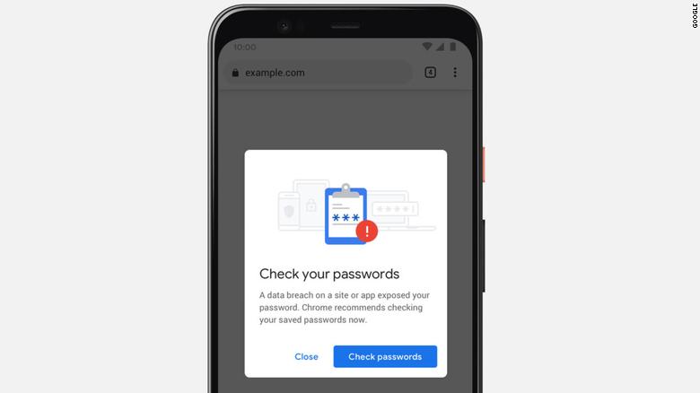 Nueva función de Google Chrome te dirá si tu contraseña no es segura