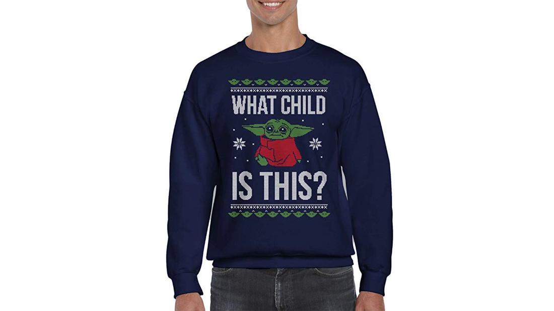 Suéter Baby Yoda