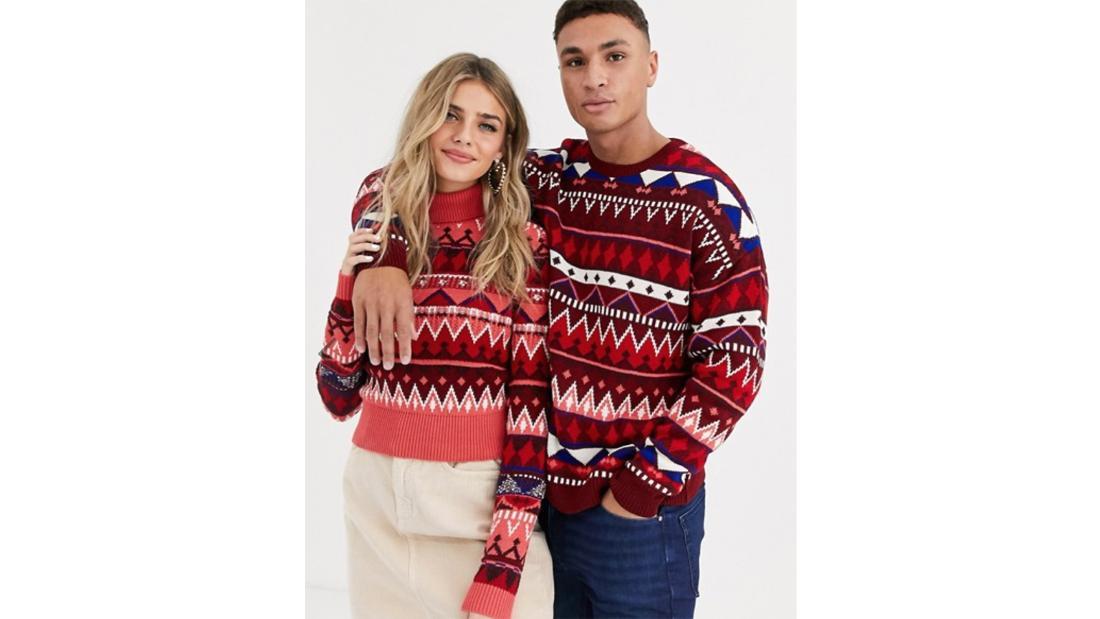 Suéter conjuntado