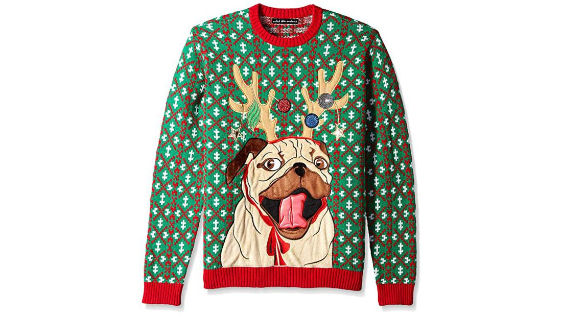 Suéter perro feo