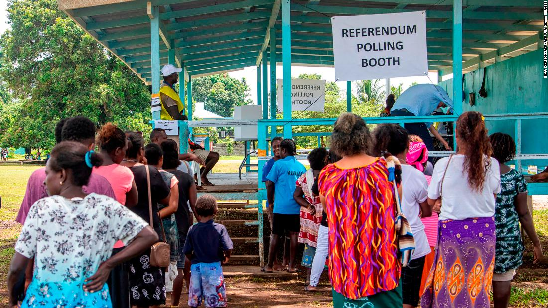 Bougainville independence vote delivers emphatic demand to become world's newest nation