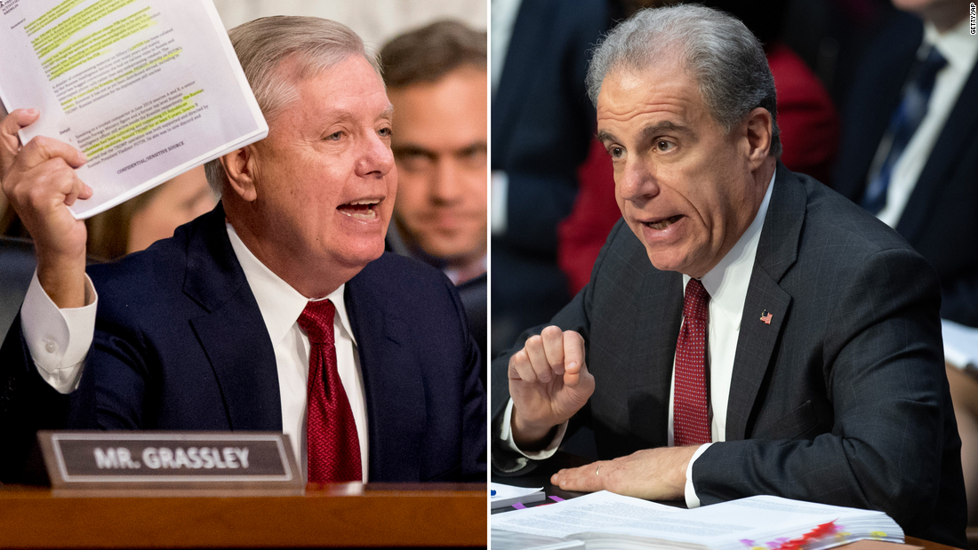 Takeaways from the Senate hearing with Justice Department inspector general Michael Horowitz