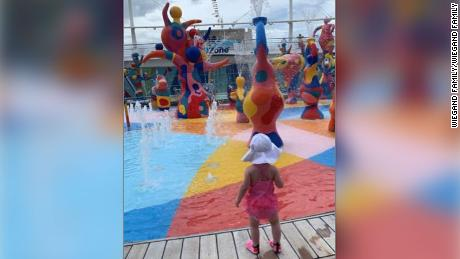 The family whose toddler fell to her death from a Royal Caribbean cruise ship sues the company