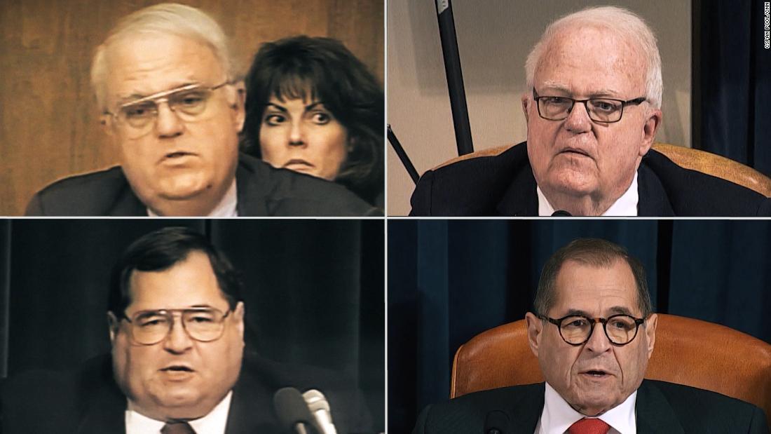 Apa yang anggota parlemen mengatakan tentang impeachment pada tahun 1998 ... dan 2019