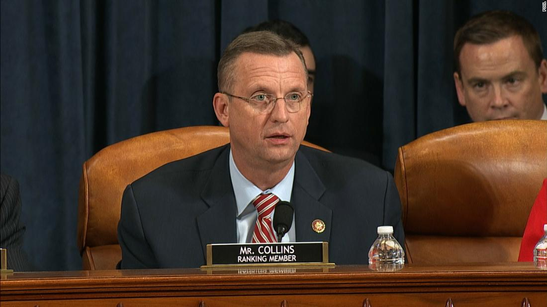 READ: Ranking Republican member Doug Collins' opening statement as Judiciary Committee begins debate on articles of impeachment