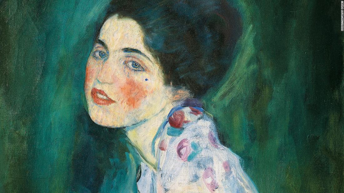 Painting found behind hidden door may be a stolen Klimt