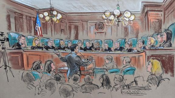 4th US Circuit Court of Appeals emoluments hearing in Richmond, Virginia.