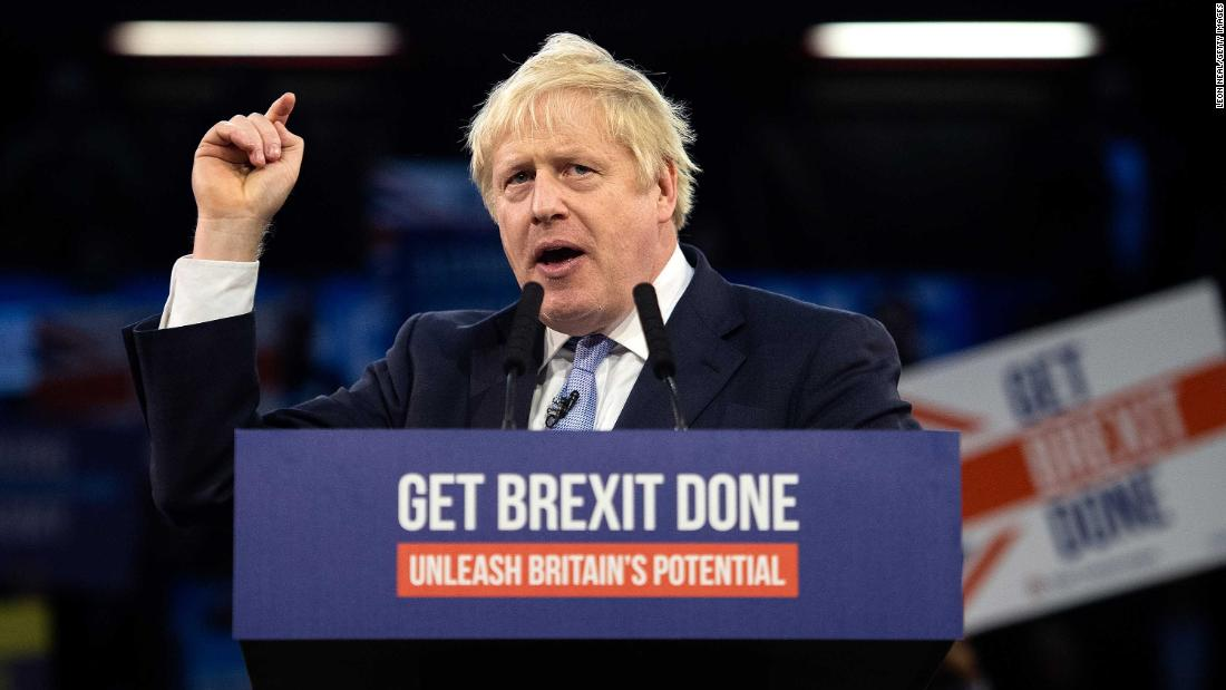 Boris Johnson on course for huge win in UK election, exit poll suggests
