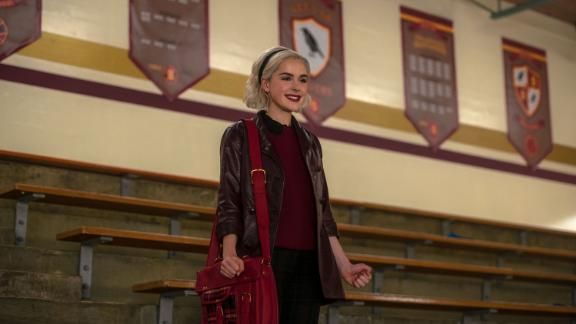 """""""Chilling Adventures of Sabrina: Part 3"""": This series re-imagines the origin and adventures of Sabrina the Teenage Witch as a dark coming-of-age story that traffics in horror, the occult and, of course, witchcraft. (Netflix)"""