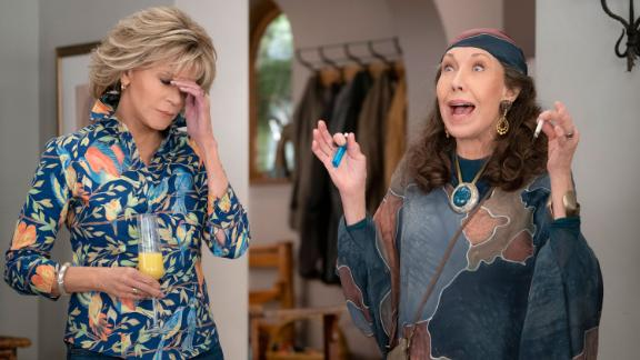 """""""Grace and Frankie"""" Season 6: Jane Fonda and Lily Tomlin are two women reinventing their lives in this funny and honest series. (Netflix)"""