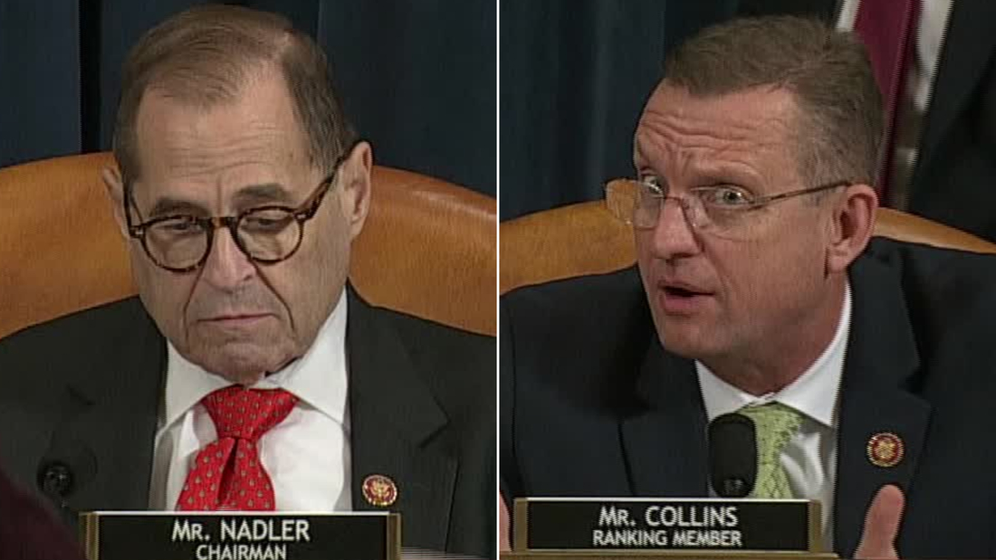 Nadler suddenly ends impeachment hearing before final vote, enraging Republicans