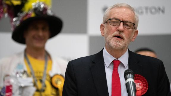 """Jeremy Corbyn announced that he would step down after a """"process of reflection."""""""