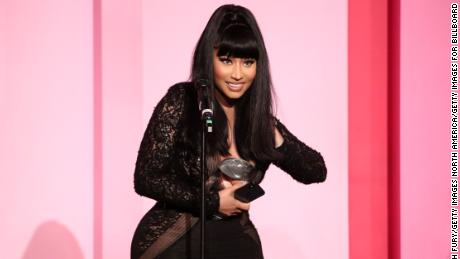 Nicki Minaj reveals sex on her newborn baby