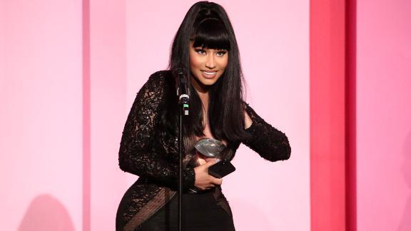 Nicki Minaj at the  2019 Billboard Women in Music Awards.