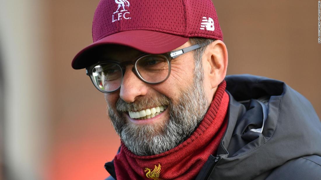 Jurgen Klopp sends heartwarming message to striker after history-making promotion