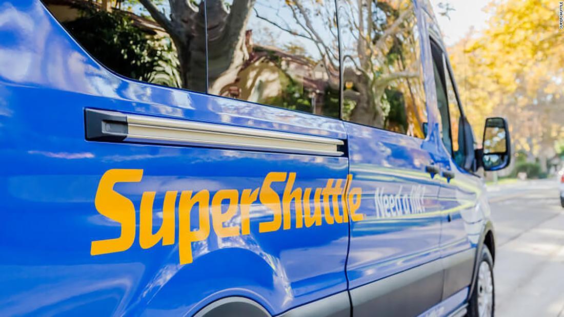 SuperShuttle Flughafen-Geschäft wird heruntergefahren, für die gute am Ende des Jahres