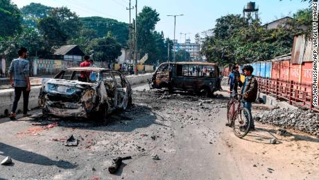 Two killed in protests over controversial Indian citizenship bill