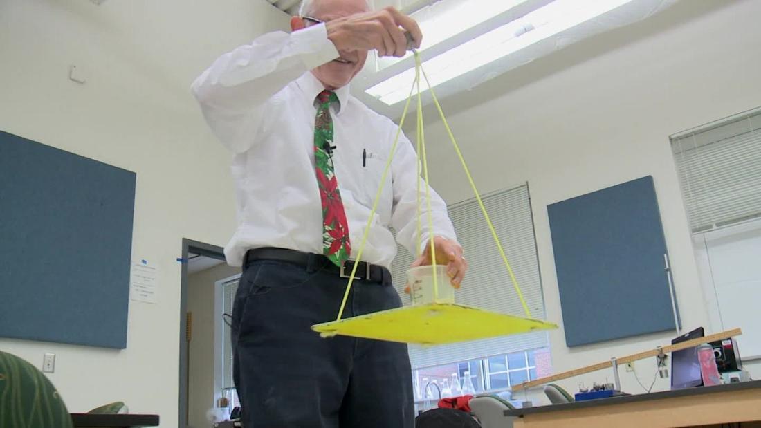 Physics professor's science experiments go viral