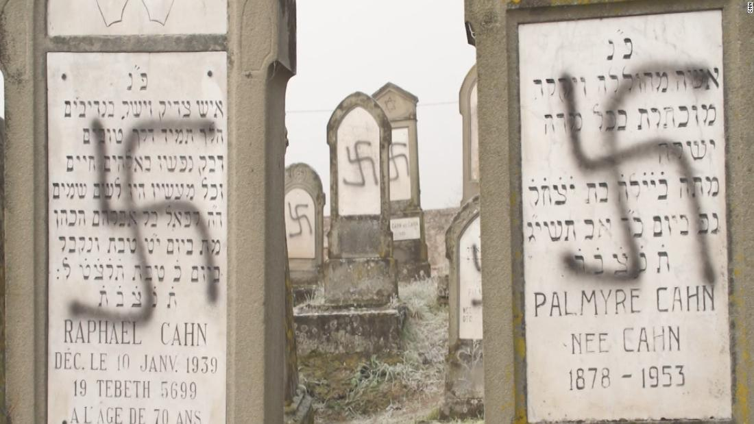 100 Jewish graves were desecrated in France. A search for the websites that fueled the hate led to the US