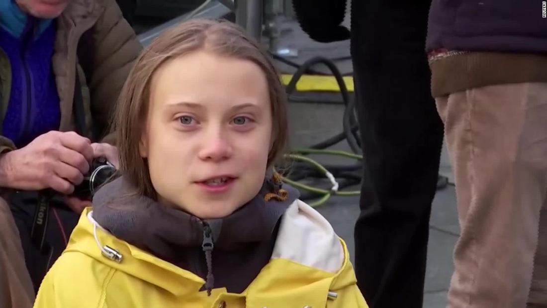 Greta Thunberg says she's taking a break