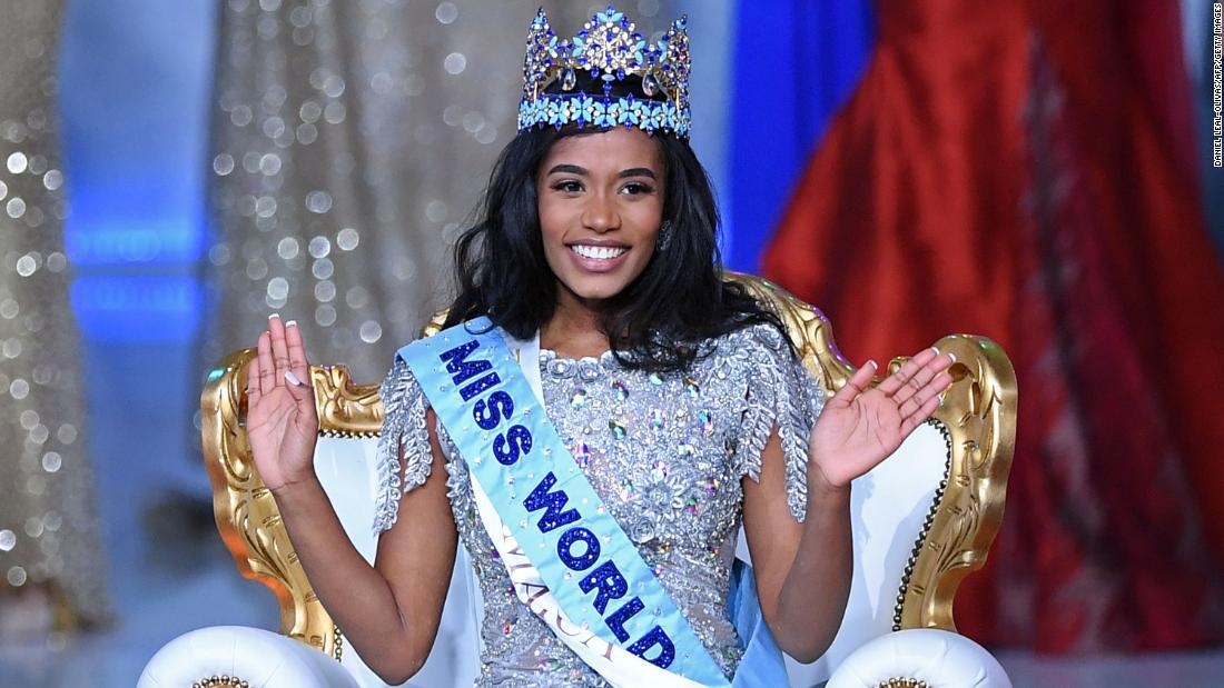 Miss Jamaika gekrönt 2019 Miss World