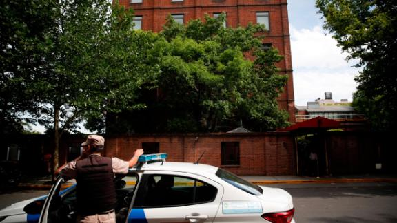 The incident happened as the victims traveled to the luxury Faena Hotel in Puerto Madero neighborhood, Buenos Aires.