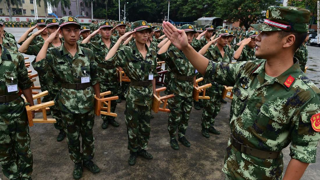 Here's what happens when you quit the Chinese military