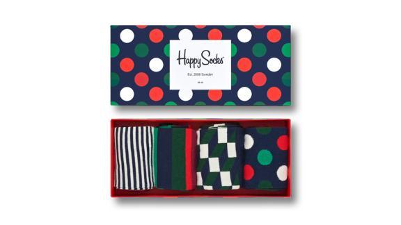 Happy Socks Holiday Big Dot Gift Box ($48; happysocks.com)