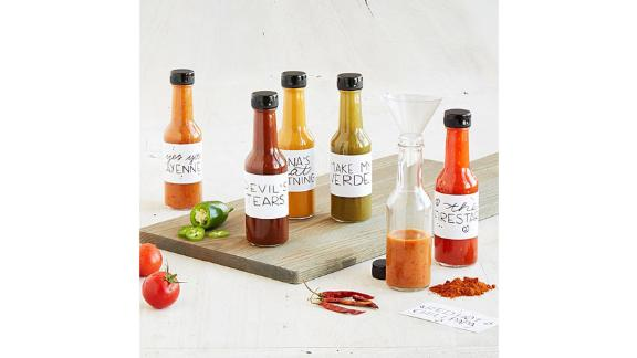 Make Your Own Hot Sauce Kit ($35; uncommongoods.com)
